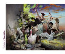 "Hartmut Kiewert Soli-Postkarte ""Evolution of..."
