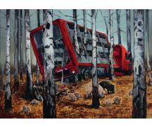 "Hartmut Kiewert Soli-Postkarte ""Herbst"""
