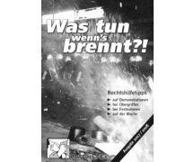 """Rote Hilfe Broschüre """"Was tun wenns brennt!?"""""""