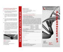 """Rote Hilfe Flyer """"DNA. Um Haaresbreite""""..."""