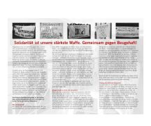 """Rote Hilfe Flyer """"Zeugenhaft. Beugehaft"""" AUSVERKAUFT"""