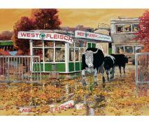 """Hartmut Kiewert Soli-Postkarte """"Ruine IV"""""""