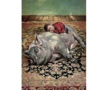 "Hartmut Kiewert Soli-Postkarte ""Teppich II"""