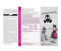 "Rote Hilfe Flyer ""Info zu Pfefferspray"""