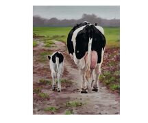 "Hartmut Kiewert Soli-Postkarte ""Companion XIV"""