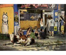 "Hartmut Kiewert Soli-Postkarte ""Lazy Afternoon"""