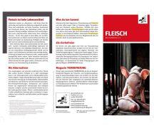 """Flyer """"Fleisch"""""""